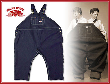 f5be38d658 ROUND HOUSE BIG AND TALL BIB OVERALLS MADE IN SHAWNEE